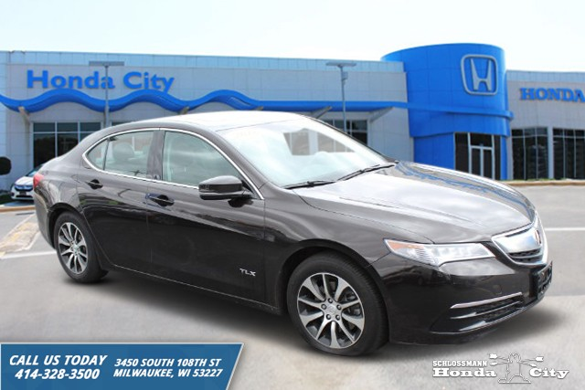 Pre Owned 2016 Acura Tlx Tech Four Door Sedan In Milwaukee 7624pl