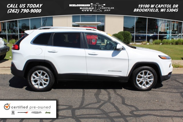 Certified Pre-Owned 2016 Jeep Cherokee 2WD Latitude