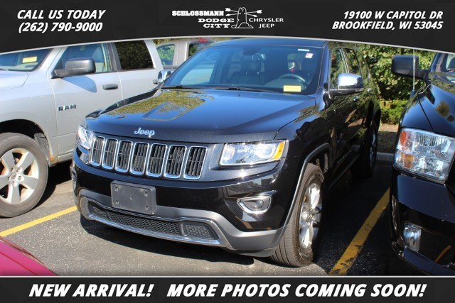 Pre-Owned 2016 Jeep Grand Cherokee 4WD Limited