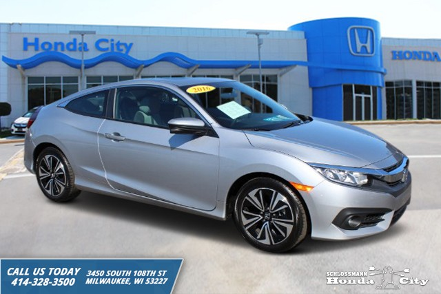 Certified Pre Owned 2016 Honda Civic Coupe Ex T