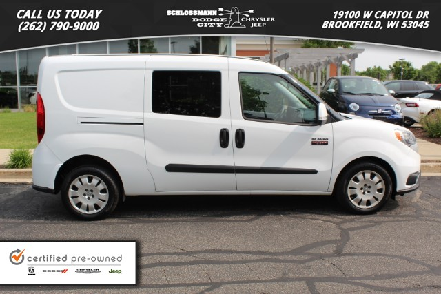 Certified Pre-Owned 2016 Ram ProMaster City Cargo Van SLT 122 WB