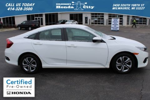 Certified Pre-Owned 2016 Honda Civic Sedan LX