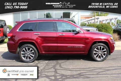 Certified Pre-Owned 2017 Jeep Grand Cherokee 4WD Overland
